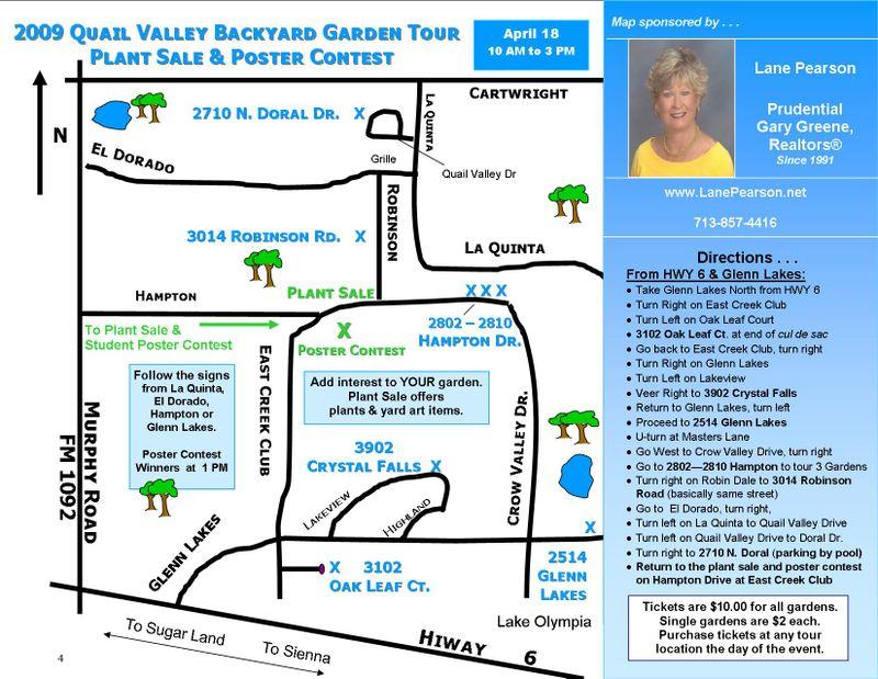 QVGC 09 Tour Map