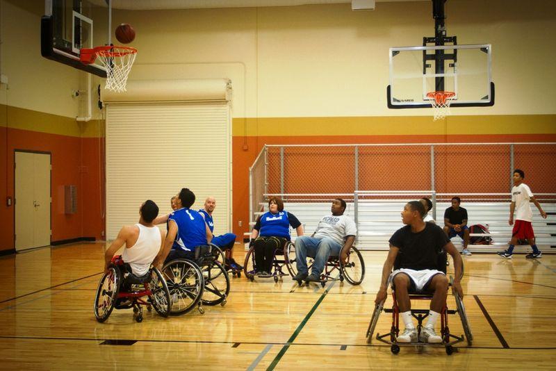 Wheelchair BB